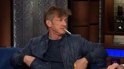 Sous somnifère, Sean Penn s'allume une cigarette devant Stephen