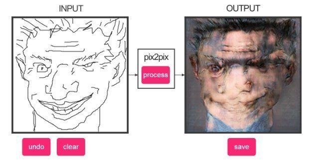 Cette intelligence artificielle génère des portraits à partir de croquis (et le résultat est parfois