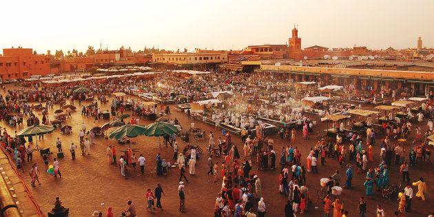 La place Jemaa el-Fna de Marrakech (Image