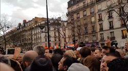 Les images de la Marseillaise devant l'immeuble de Mireille Knoll pour conclure la marche