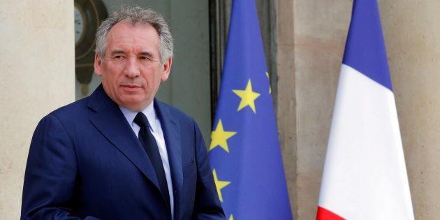 François Bayrou à l'Elysée le 18