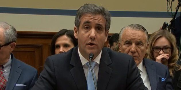 Ce mercredi 27 février, Michael Cohen témoignait devant une commission de la chambre des représentants...