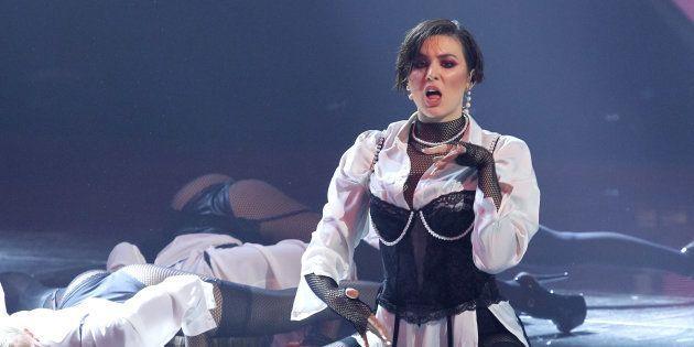 Maruv, la chanteuse qui a remporté les suffrages du public, a notamment refusé
