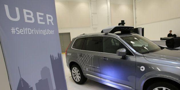 Uber aurait diminué le nombre de capteurs sur ses voitures