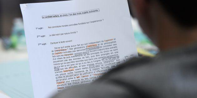 Possibles fuites de sujets du Bac S 2017: le ministère de l'Éducation nationale ouvre une