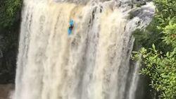 Ce kayakiste australien a défié la mort pour réaliser cet