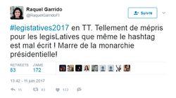 Comment la vilaine coquille #LegisTatives2017 s'est imposée sur