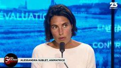 Alessandra Sublet estime que