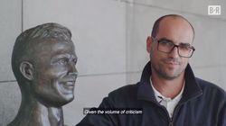 Le sculpteur du buste désastreux de Cristiano Ronaldo a eu droit à une belle