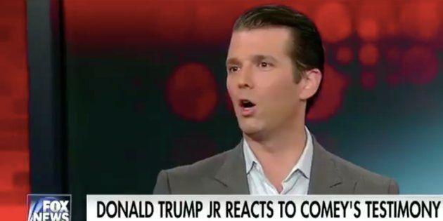 Donald Trump Jr. voulait défendre son père face au FBI... mais l'a contredit