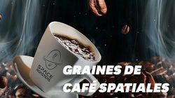 Une capsule spatiale pour torréfier des grains de café dans