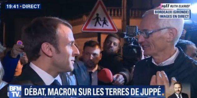 A Bordeaux ce 28 février, Emmanuel Macron est revenu pour la première fois sur sa