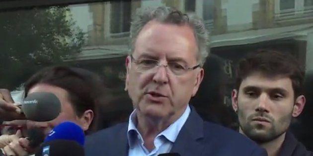 Résultats législatives 2017: Richard Ferrand avait des comptes à régler avec les journalistes après son...
