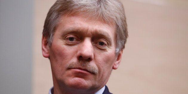 Dmitry Peskov à Moscou le 7 décembre