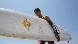 Un Syrien réfugié au Liban découvre la mer et se passionne pour le