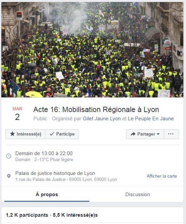 A Lyon, les organisateurs de l'évènement laissent le choix aux manifestants de porter un gilet jaune...