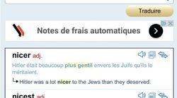 Le site de traduction Reverso et ses résultats antisémites