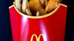 Ça n'était pas un poisson d'avril : McDo permet exceptionnellement d'avoir à la fois des frites et des