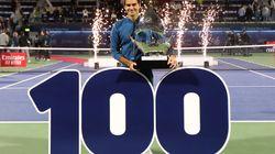 Federer gagne son 100e titre, Jimmy Connors lui souhaite la bienvenue au
