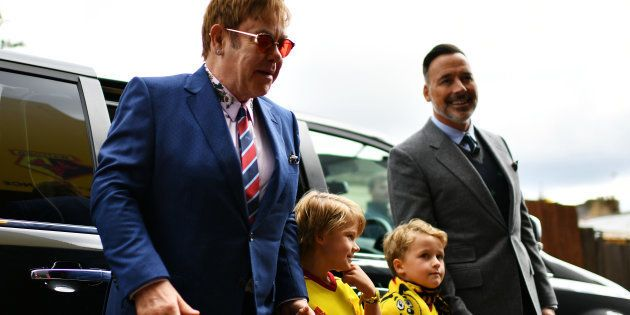 Elton John se confie sur sa paternité et ses deux petits garçons qu'il élève avec son mari David