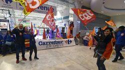 Les syndicats de Carrefour se félicitent d'un mouvement de grève