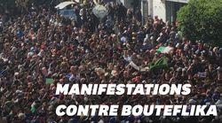 Les étudiants algériens manifestent en attendant le dépôt de candidature de