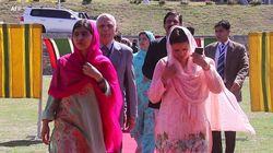 Les images du retour de Malala dans sa vallée natale, 5 ans après l'attentat qui a failli la
