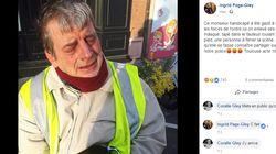Un gilet jaune en fauteuil roulant aspergé de lacrymogène veut porter