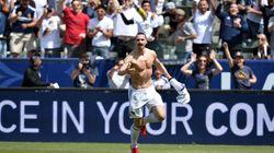L'incroyable doublé de Zlatan pour son premier match avec Los