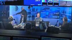 Bernard Tapie quitte le studio d'Europe 1 après des questions sur Marc