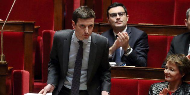 Aurélien Taché, ici à l'Assemblée en février 2018, fait polémique avec des propos sur le