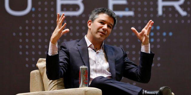 Travis Kalanick, le patron d'Uber