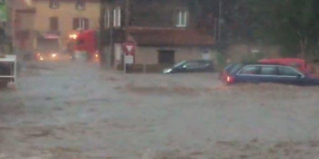 De violents orages en Haute-Loire font un disparu et de nombreux