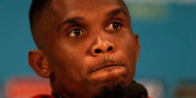 Samuel Eto'o n'a pas du tout apprécié le Poisson d'Avril de Jeune