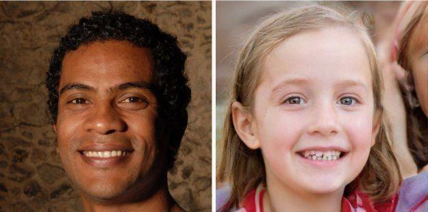 Un exemple de deepfake. Un seul de ces visages est réel. L'autre a été créé par un GAN. Cette petite...