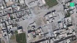 Les images de ce drone montrent l'ampleur de la destruction de la Ghouta