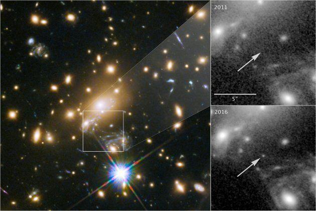 Cette étoile est 100 fois plus éloignée que la plus lointaine jamais
