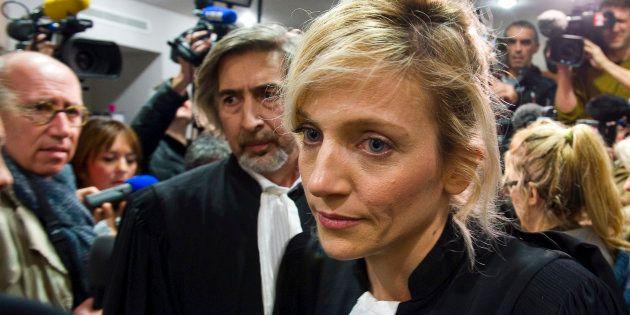 Les avocats Marie Grimaud et Rodolphe Constantino (L), lors du procès de l'affaire Fiona, le 25 novembre
