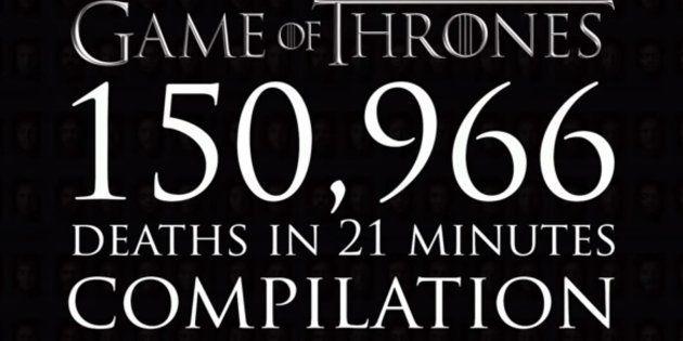 Toutes les morts de Game of Thrones en une
