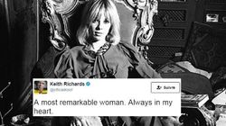 Keith Richards rend hommage à Anita Pallenberg, muse des Rolling