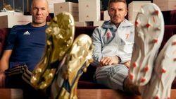 Zidane et Beckham se retrouvent dans une pub