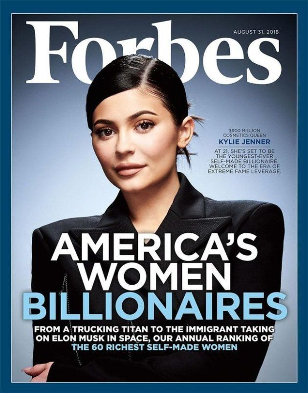 La une de Forbes en juillet 2018, consacré au parcours hors du commun de la jeune femme dans le monde...