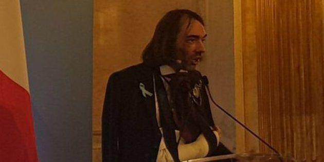 Selon nos informations, le député et mathématicien Cédric Villani s'est brisé le poignet et blessé au