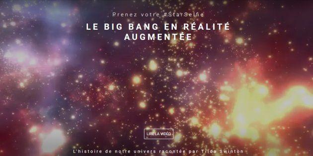Google propose de découvrir le Big Bang en réalité augmentée (et de nombreuses autres merveilles
