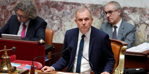 François de Rugy à l'Assemblée nationale le 12 juillet