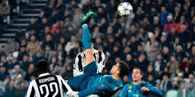 Ligue des Champions: Le retourné somptueux de Cristiano Ronaldo pendant Juventus-Real