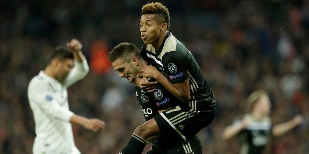 Le résumé et les buts de l'incroyable performance de l'Ajax face à Madrid (photo