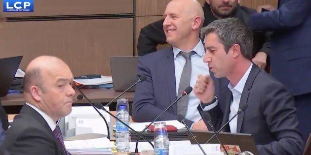François Ruffin en commission à l'Assemblée nationale mardi 5
