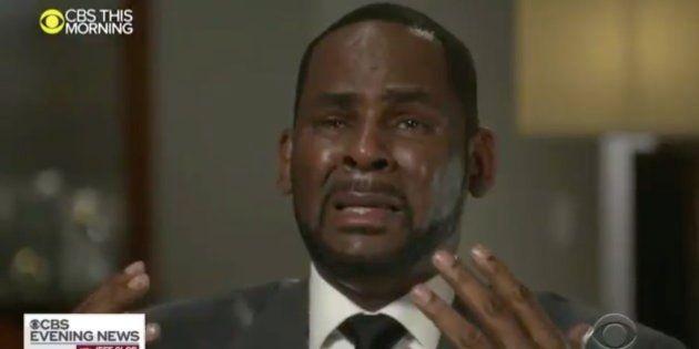 R.Kelly sur le plateau de CBS This