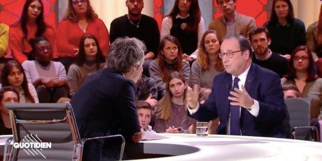 François Hollande sur plateau
